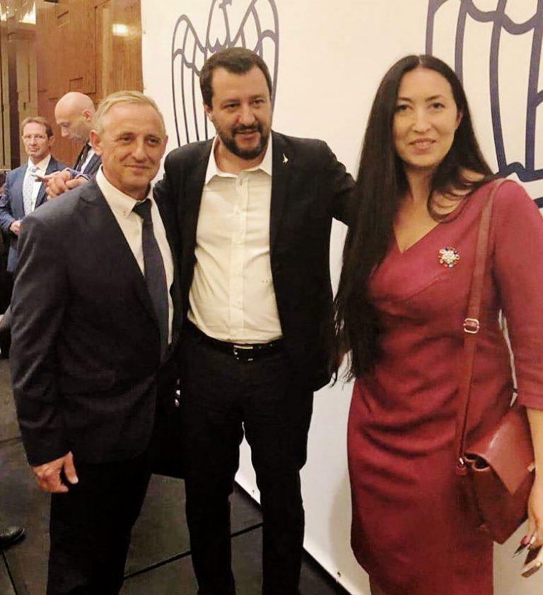Conferenza Confindustria a Mosca ospite Ministro Matteo Salvini