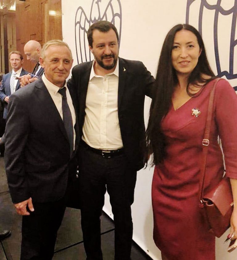 Конференция «Confindustria» в Москве принимает в гости министра Маттео Сальвини, вместе с нашими сотрудниками российско-итальянского центра в Воронеже.