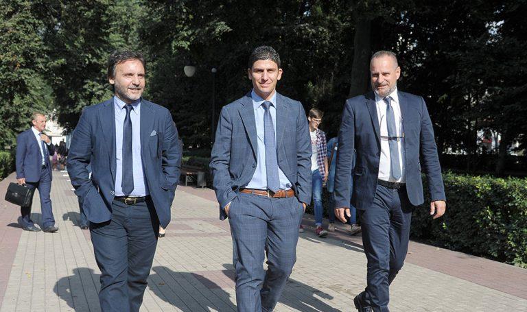 После деловой встречи с администрацией города, гости прогулялись по городу Воронеж.