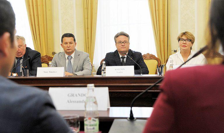 16 сентября завершился официальный визит делегации Ладисполи в российский город Воронеж.